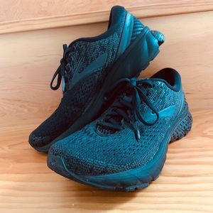 Brooks Ghost 11 Running Shoes (Black) 7.5